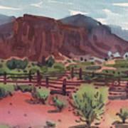 Navajo Corral Poster