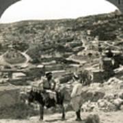 Nazareth, Palestine, C1920 Poster