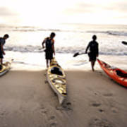 Nc Kayakers  Poster