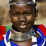 Ndebele Maiden Poster