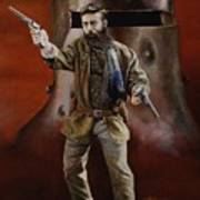 Ned Kelly Poster by Chris Collingwood