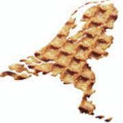 Nederland Stroopwafelland Poster