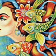 Nefertiti Sea Journey Poster
