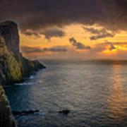 Neist Point Lighthouse Isle of Skye Poster