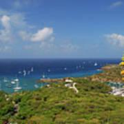 Nelson's Dockyard Antigua Poster