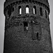 Nenagh Castle Tower Bw Poster