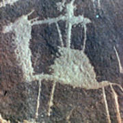 Neolithic Petroglyph Poster
