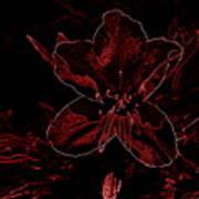 Neon Bloom Poster