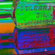 Neon Vessels Poster