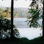 Nestling Lake Poster
