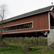 Netcher Road Covered Bridge 2 Poster