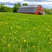 New England Landscape Poster