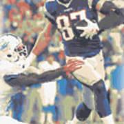 New England Patriots Rob Gronkowski 3 Poster