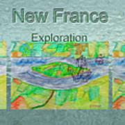 New France Mug Shot Poster