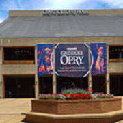 New Grand Ole Opry House Poster