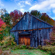 New Hampshire Barn Eaton Nh Poster