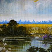 New Jersey Marsh Poster