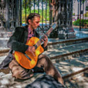 New Orleans Musician - Chris Craig Poster