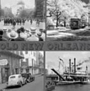 New Orleans Nostalgia Poster