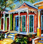 New Orleans Plain And Fancy Poster
