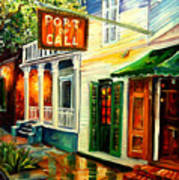 New Orleans Port Of Call Poster