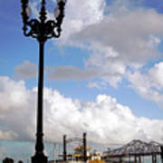 New Orleans Riverwalk Poster by Joy Tudor
