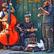 New Orleans Street Musicians Poster