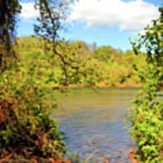 New River Views - Bisset Park - Radford Virginia Poster