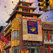 New Year In Chinatown Poster