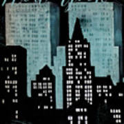 New York Art Deco Poster