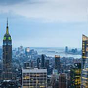 New York Blues Poster