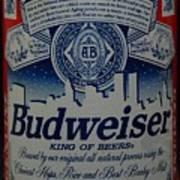 New York Bud Poster