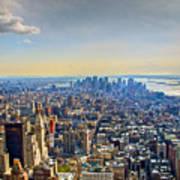 New York City - Manhattan Poster
