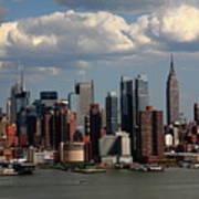 New York City Skyline 4 Poster