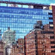 New York City Skyscraper Art 4 Poster