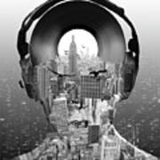 New York City Sound Poster