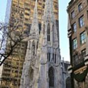 New York City St. Patrick's Cathedral Poster