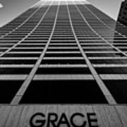 New York City - W. R. Grace Building Poster