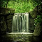 New York City Waterfall Poster