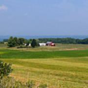 New York Farmland Poster