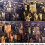 New York Mid Manhattan Medley - Photo Art Poster Poster