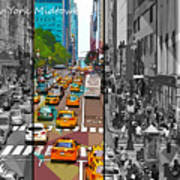 New York Midtown 123 Poster