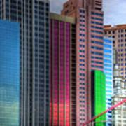New York-new York - Las Vegas Poster by Neil Doren