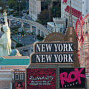 New York New York Strip Poster by Andy Smy