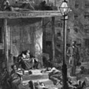 New York Poor In Summer Poster