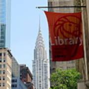 New York Scene Poster