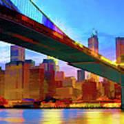New York Skyline 11 Poster
