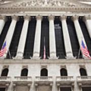 New York Stock Exchange Poster by Bryan Mullennix