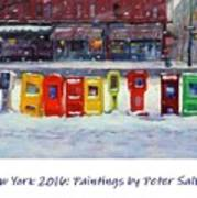 New York Streetscapes 2016 Poster