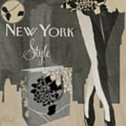 New York Style I Poster